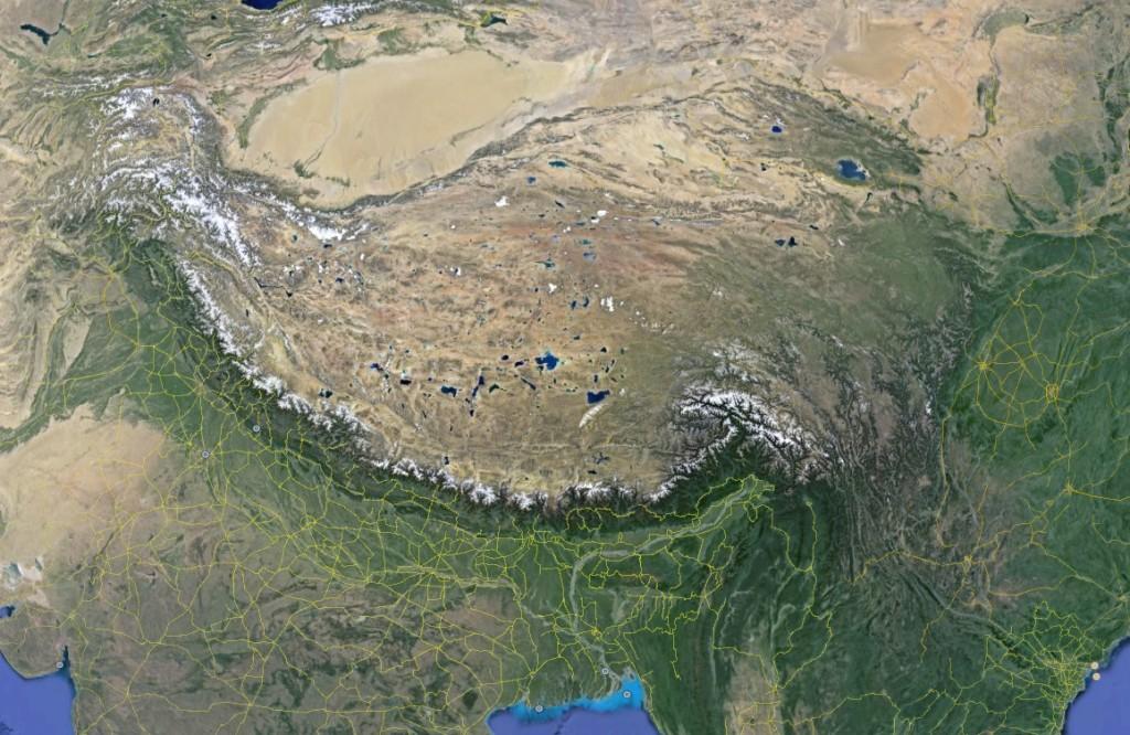 PanHimalaya - Google Earth