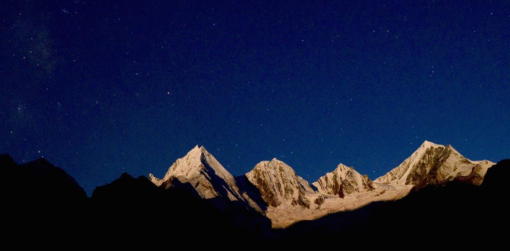 Panchachuli Stars - cropped