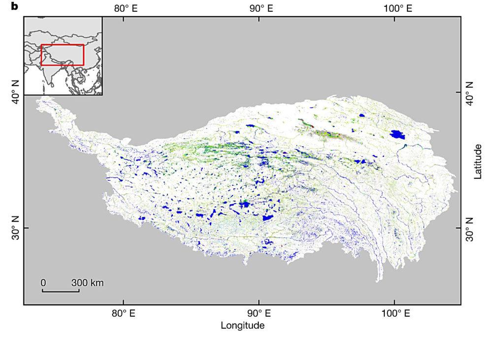 tibet-surface-water-map